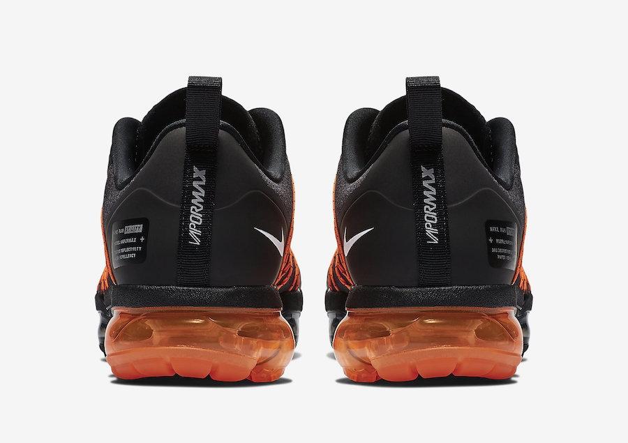 sports shoes d1f9e baa2a Nike Air VaporMax Run Utility Black Orange