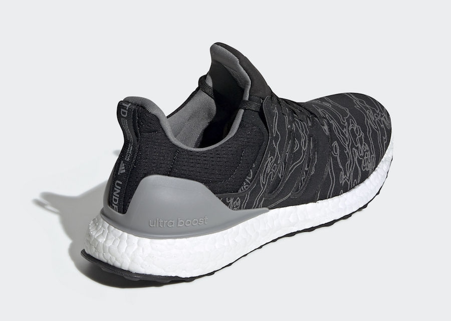 the best attitude 8bcb3 2fcfe Undefeated x adidas Ultra Boost Core Black