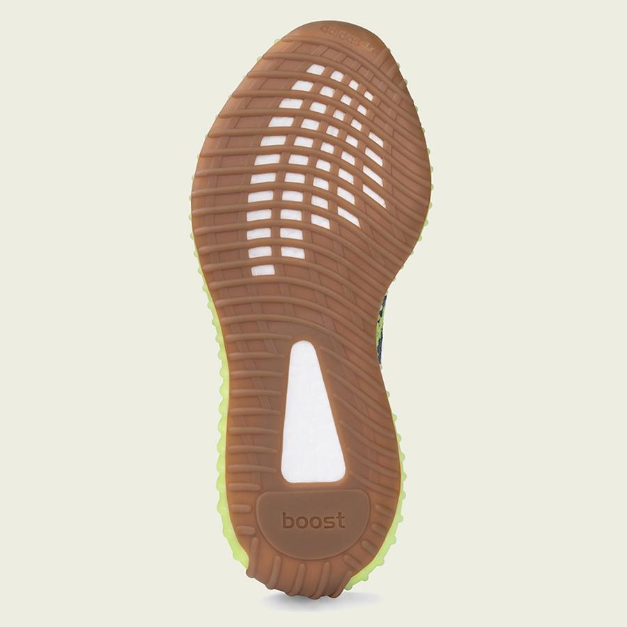14bc745e220 adidas Yeezy Boost 350 V2 Semi Frozen Yellow - Jordan Depot