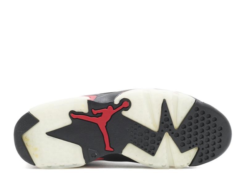 new style cde42 20909 Air Jordan 6 Black Varsity Red (2010)