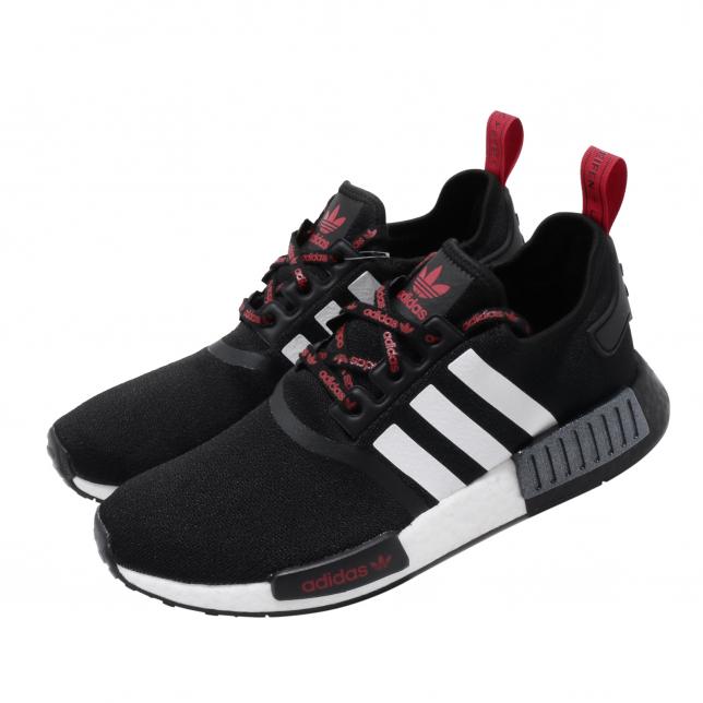adidas nmd black red white Shop