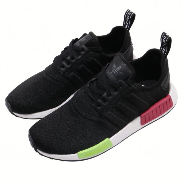 Adidas Nmd R1 Core Black Energy Pink Kicksonfire
