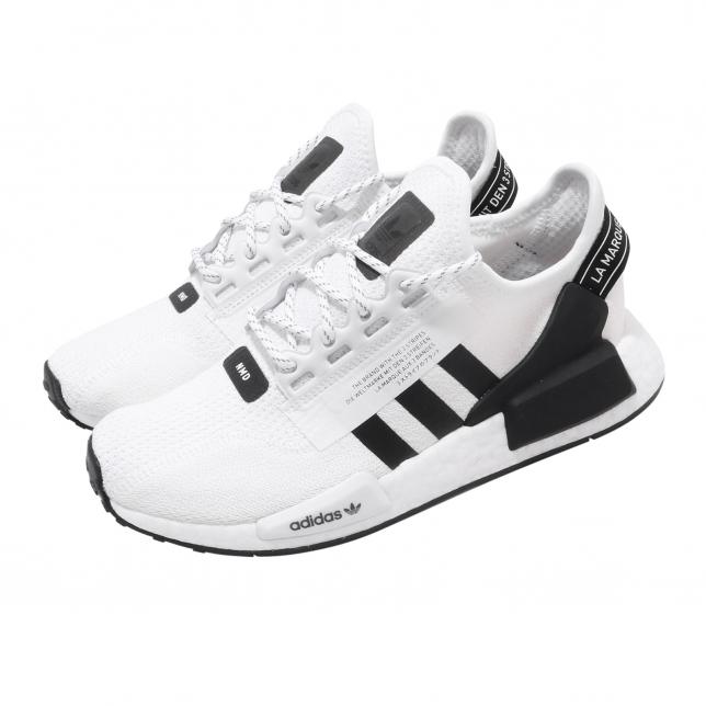 Adidas Nmd R1 V2 Cloud White Core Black Kicksonfire