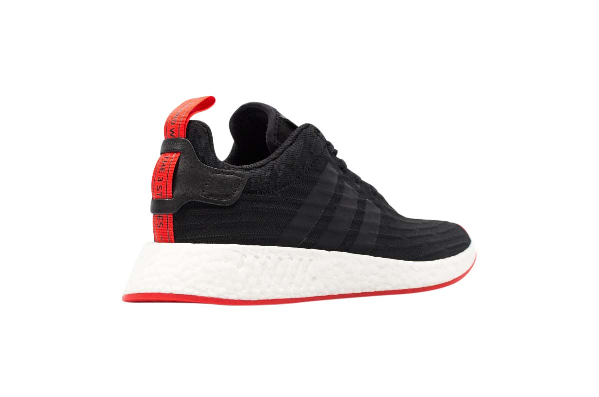 Adidas Nmd R2 Core Black Red Sneakerdeals