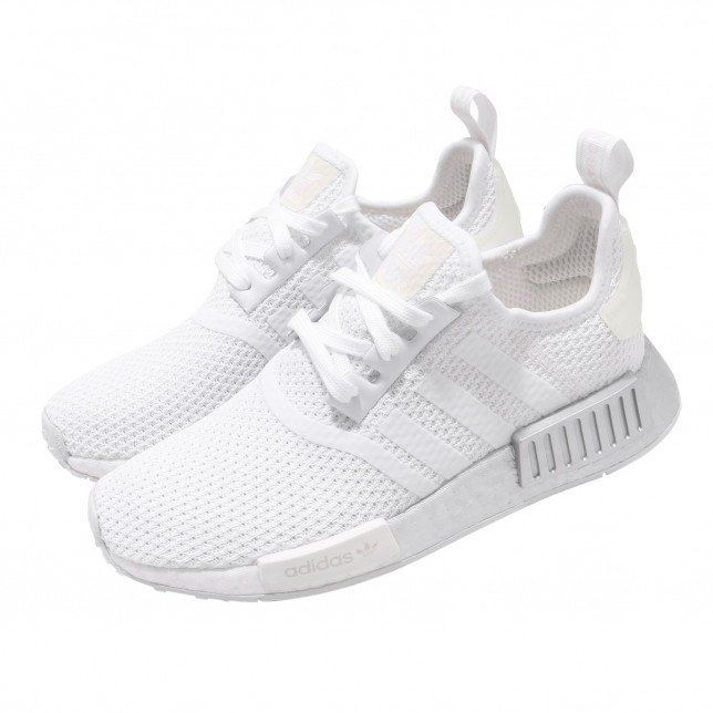 Adidas Wmns Nmd R1 Cloud White Crystal White Kicksonfire