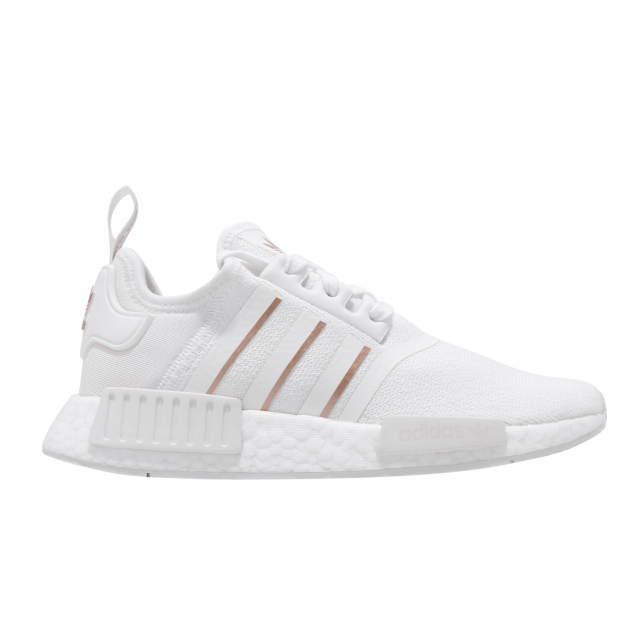 Adidas Wmns Nmd R1 Cloud White Rose Gold Metallic Kicksonfire