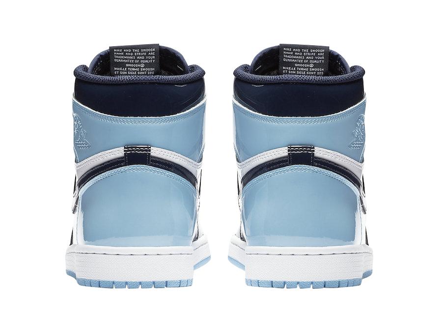 Air Jordan 1 Retro High Og Wmns Blue Chill Jordan Depot