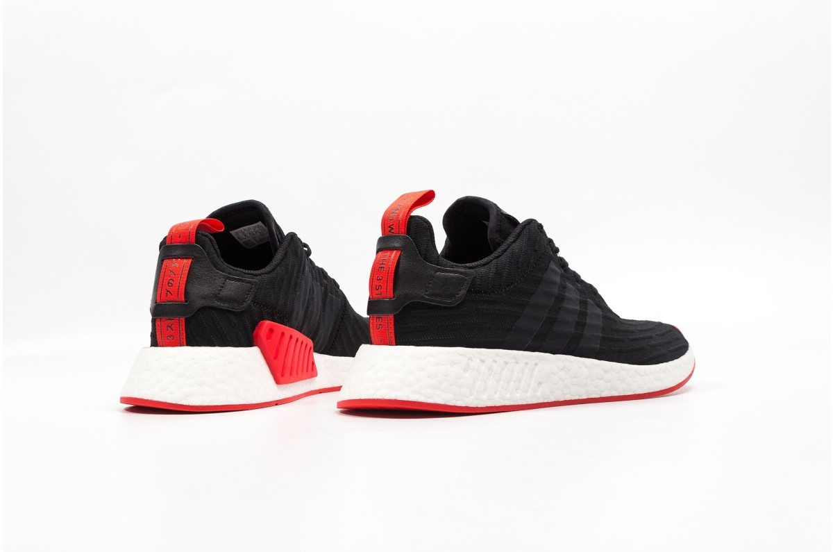 adidas NMD R2 Core Black Red - KicksOnFire 9af64f972607