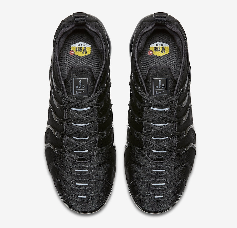 28e7219b043 Nike Air VaporMax Plus Triple Black - KicksOnFire