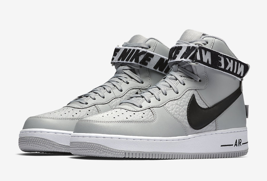 separation shoes 3a324 11bf1 Nike Air Force 1 High Statement Game Flight Silver