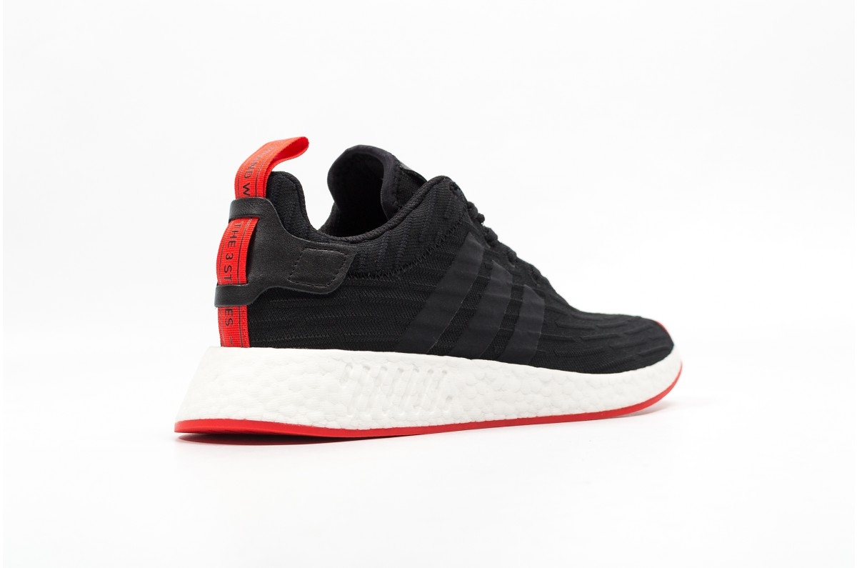 90db6de51cd24 adidas NMD R2 Core Black Red - KicksOnFire