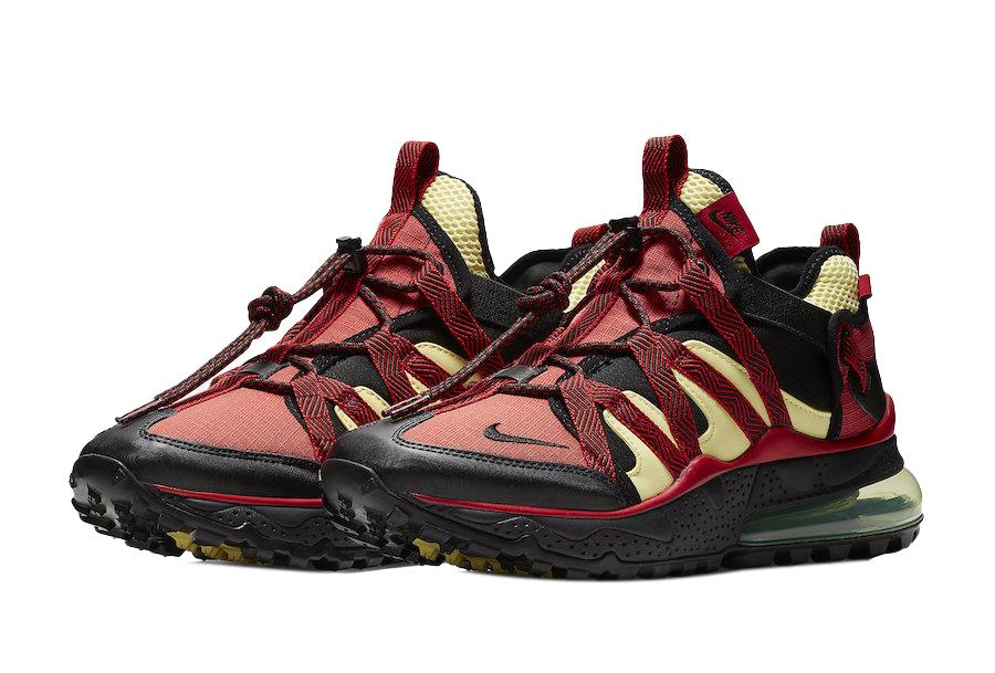 Nike Air Max 270 Bowfin Black University Red Kicksonfire