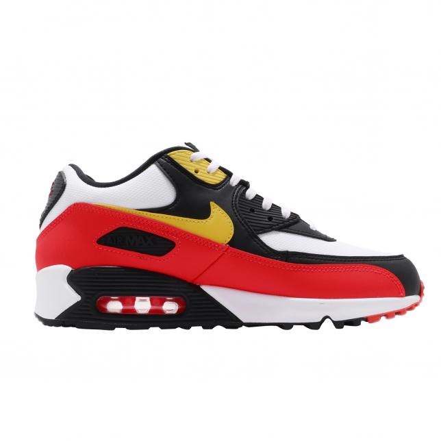 Nike Air Max 90 Essential Chrome Yellow Black Kicksonfire