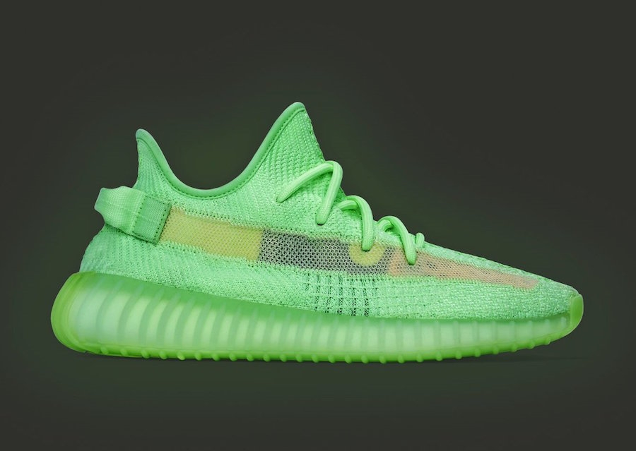 cheaper 43258 1072a BUY Adidas Yeezy Boost 350 V2 Glow In The Dark   Kixify Marketplace