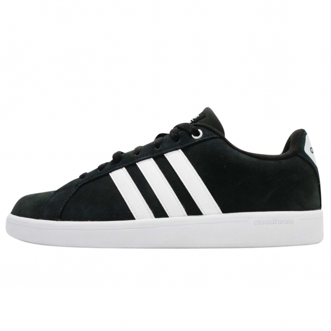 Adidas Cloudfoam Advantage Black Chalk White Core Black Footwear White