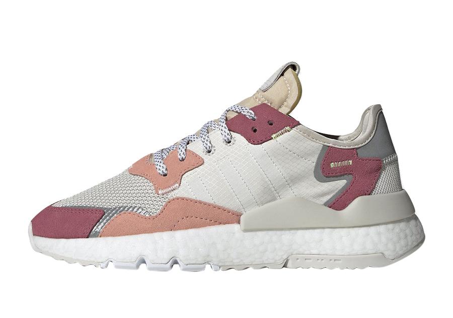 adidas nite jogger w rosa