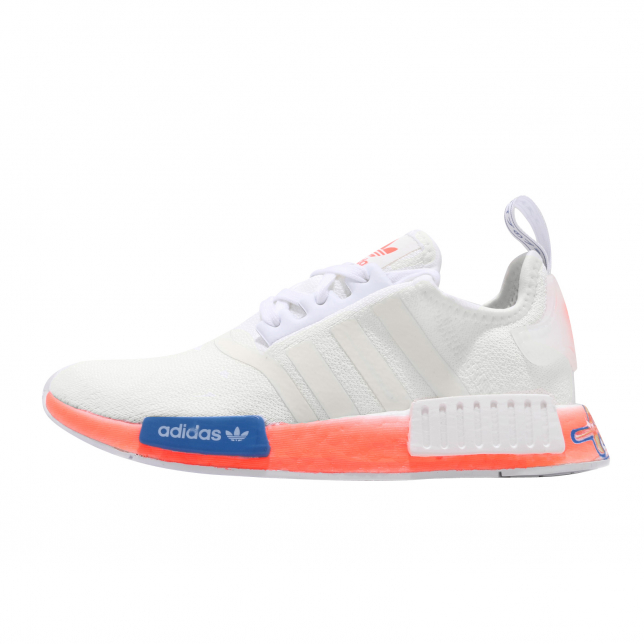 Buy Adidas Nmd R1 Cloud White Orange Blue Kixify Marketplace