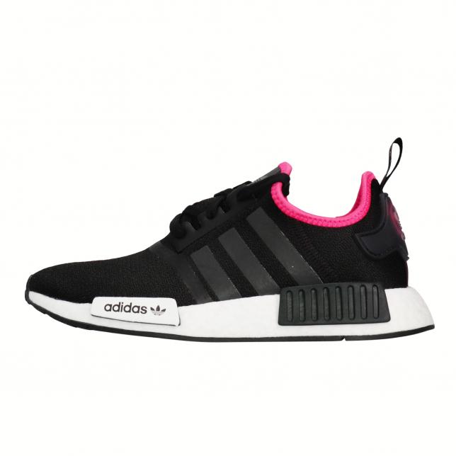Buy Adidas Nmd R1 Core Black Shock Pink Kixify Marketplace