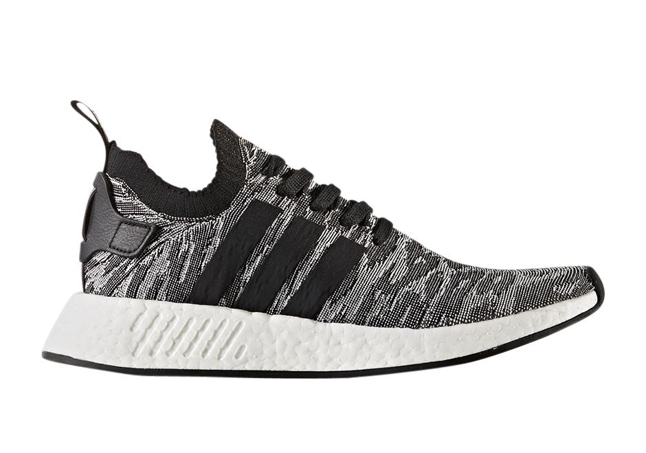 Buy Adidas Nmd R2 Primeknit Black White Kixify Marketplace