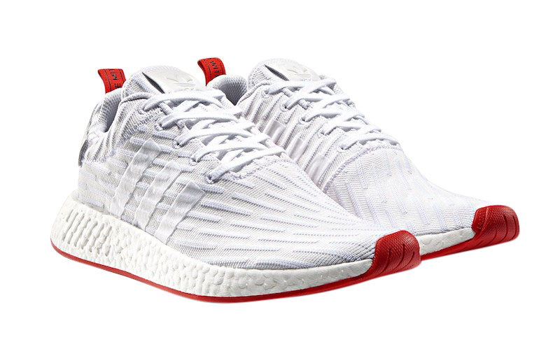 Buy Adidas Nmd R2 White Red Kixify Marketplace
