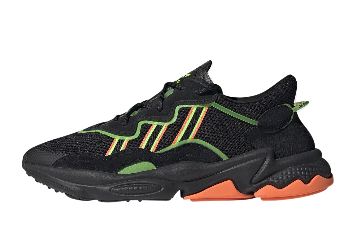 Adidas Ozweego Core Black Green