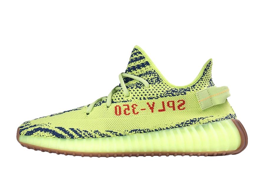 Sneakers yellow Adidas Yeezy Boost 350 V2 Semi Frozen Yellow