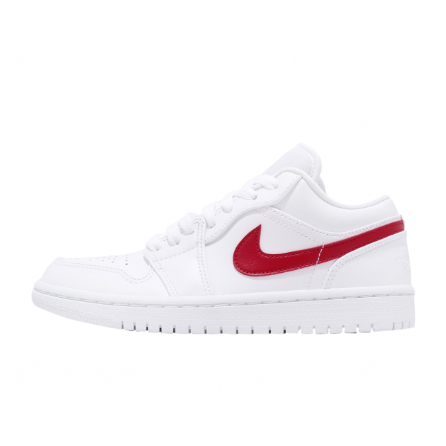 Buy Air Jordan 1 Low Wmns White University Red Kixify Marketplace