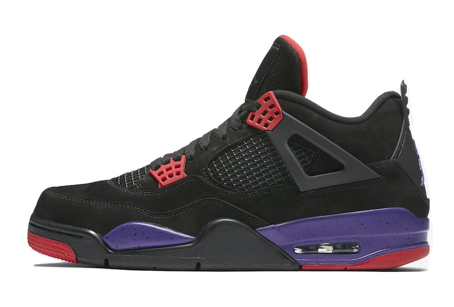 8a7aaa8ef10b Air Jordan 4 NRG Raptors. Black University Red-Court ...