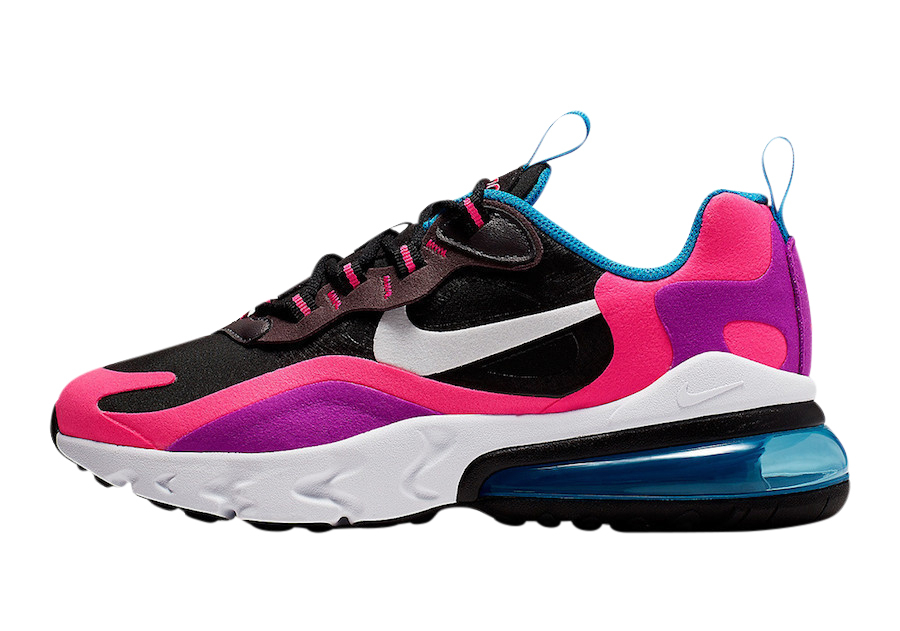 Buy Nike Air Max 270 React Gs Hyper Pink Kixify Marketplace