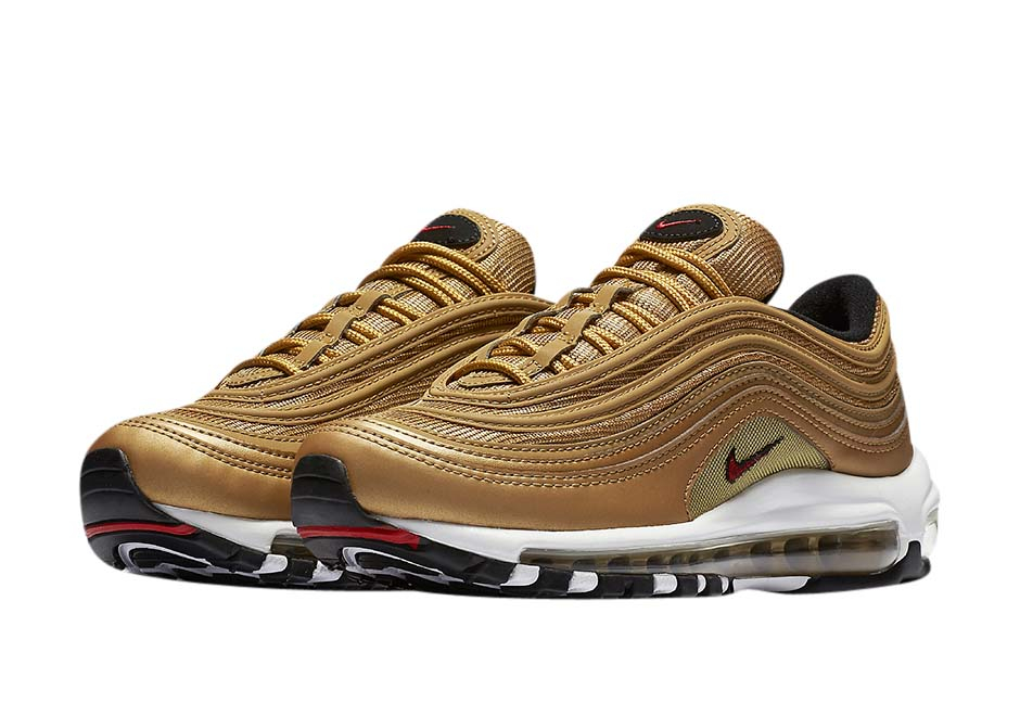 Buy Nike Air Max 97 Gs Metallic Gold Kixify Marketplace