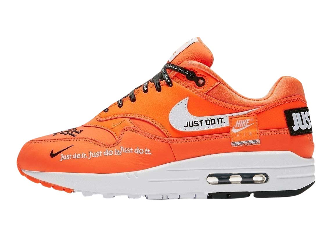 Buy Nike Wmns Air Max 1 Lx Just Do It Orange Kixify Marketplace