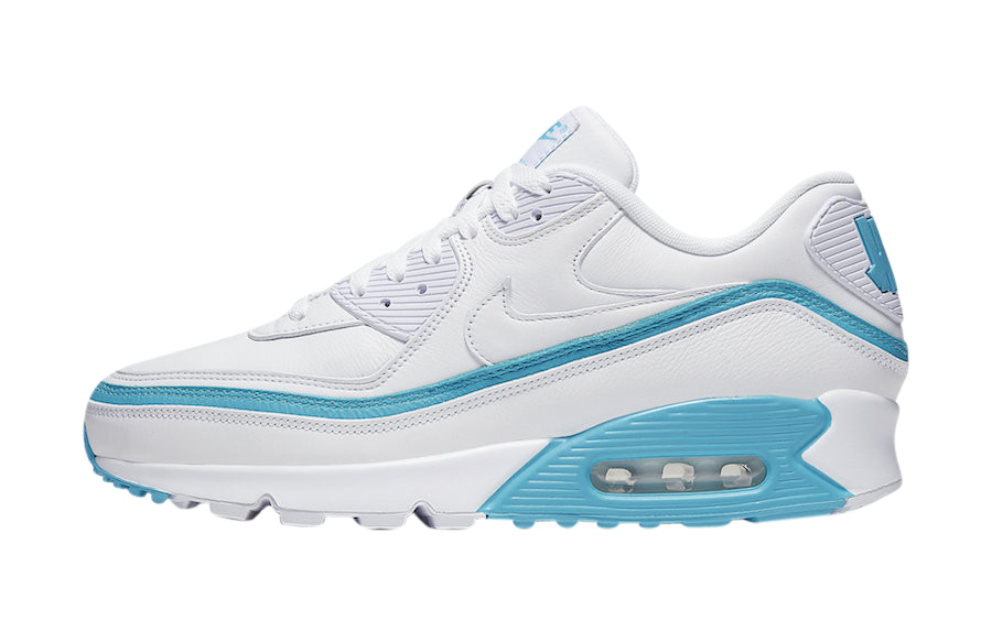 Buy Undefeated X Nike Air Max 90 White Blue Fury Kixify Marketplace