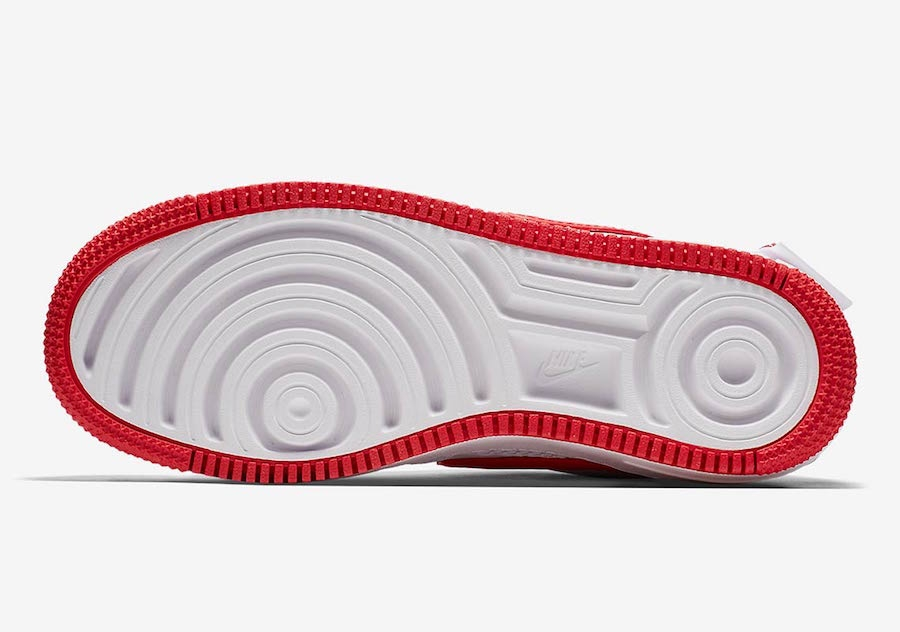Nike Wmns Air Force 1 Jester Xx White University Red