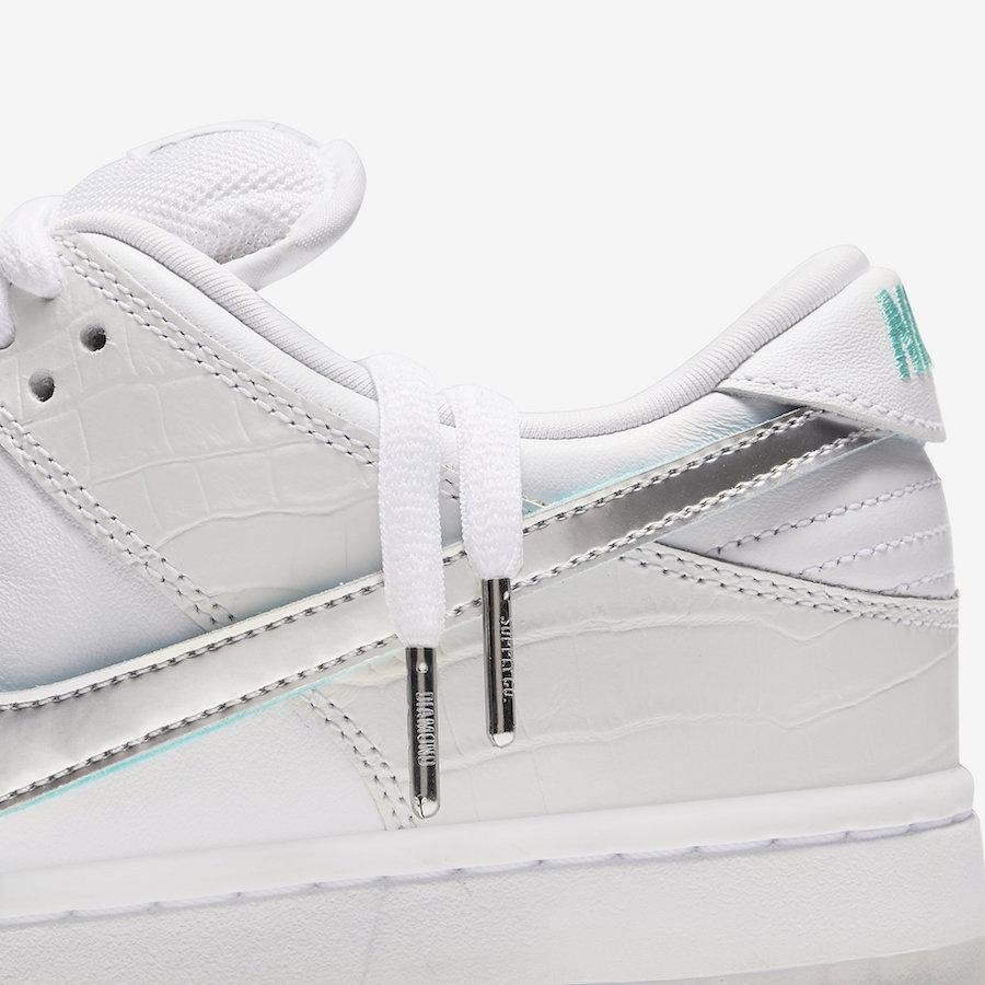 526ba6aa49 BUY Diamond Supply Co. X Nike SB Dunk Low White | Kixify Marketplace