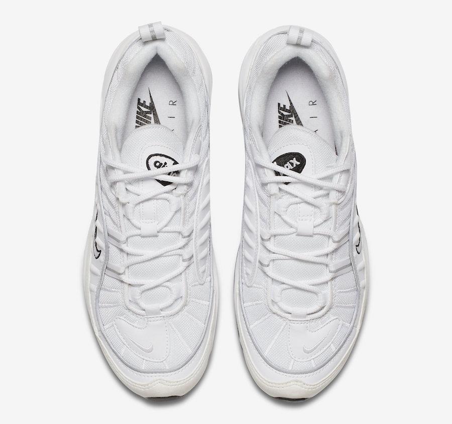 huge discount 3e9a7 58c7b Nike WMNS Air Max 98 White Reflective Silver