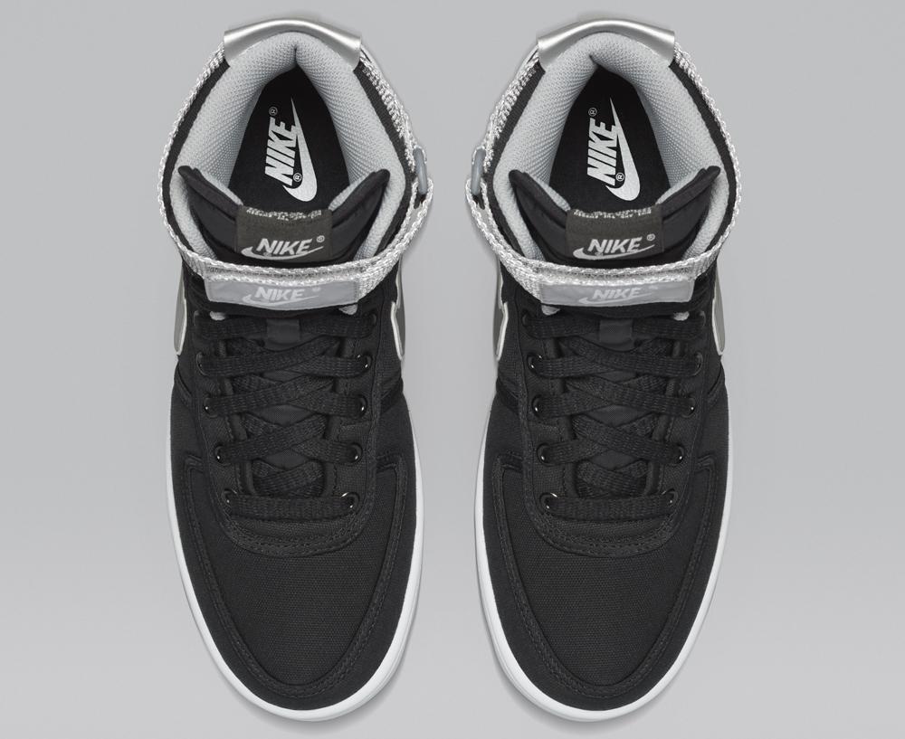 online store a2412 4cf5e ... new sneaker d942b 74666 Nike Vandal High SP - Black Metallic Silver .  ...