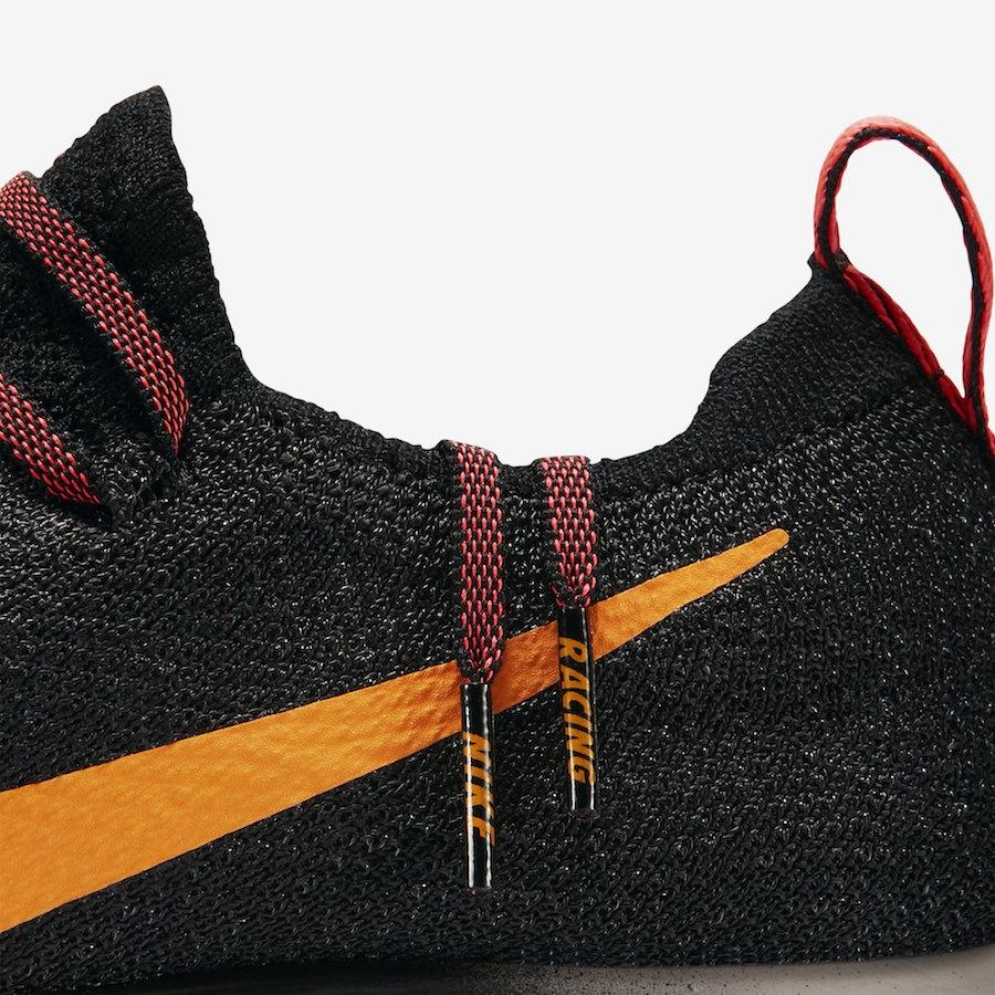 f333c8105d48 Nike Zoom Fly Flyknit Black Flash Crimson. Black Flash Crimson-Orange Peel- Moon ...