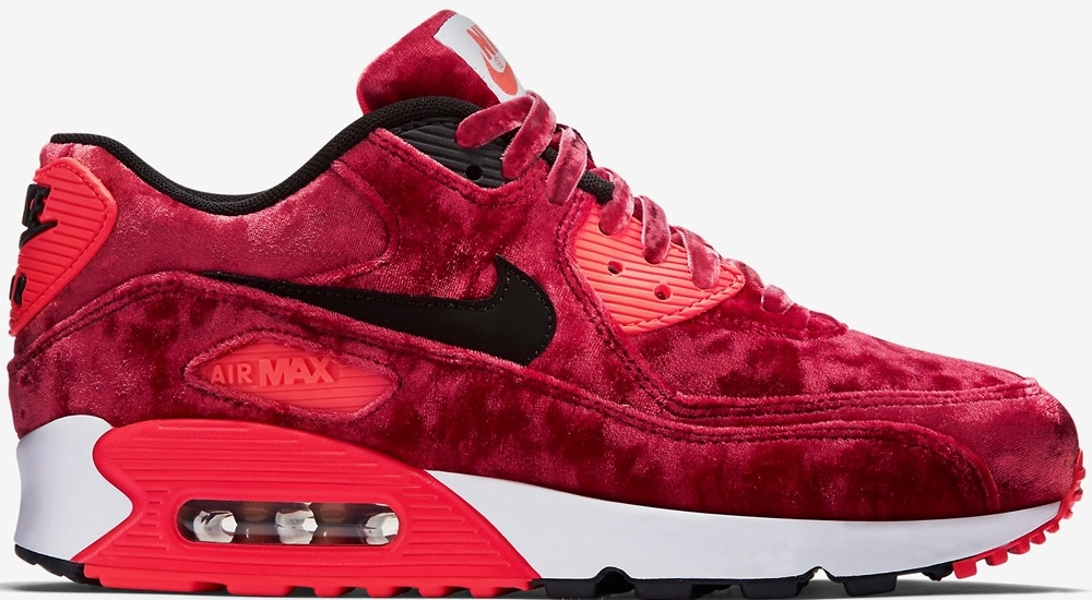 Red Velvet Nike Air Max 90 For Sale