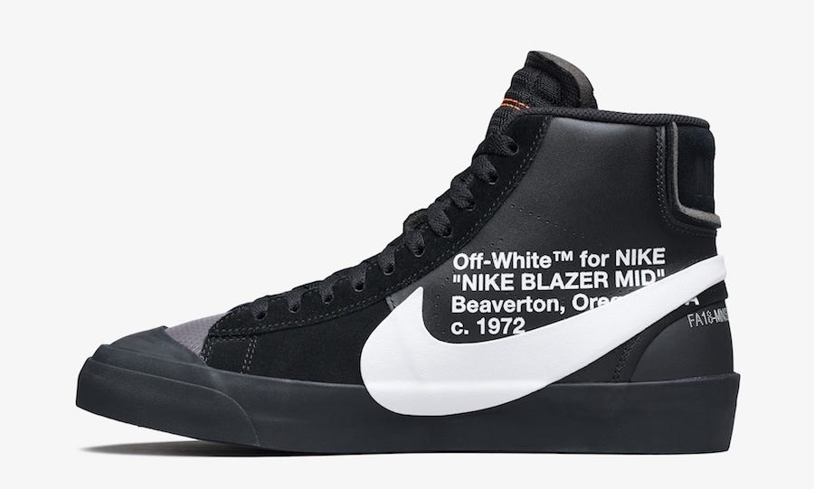 buying cheap top quality good out x Off-white X Nike Blazer Mid Grim Reepers