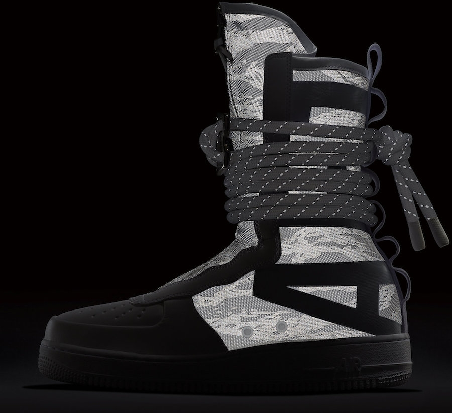 Nike Special Field Air Force 1 High Winter Camo