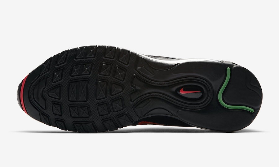 buy online 12755 2b0fc Undefeated X Nike Air Max 97 Black