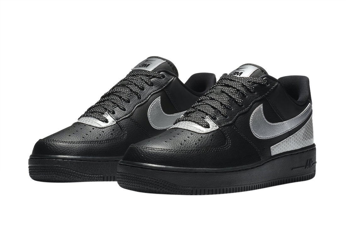 3M x Nike Air Force 1 Low Black CT2299-001 - KicksOnFire.com