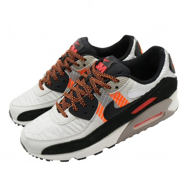 3m X Nike Air Max 90 Light Bone Total Orange