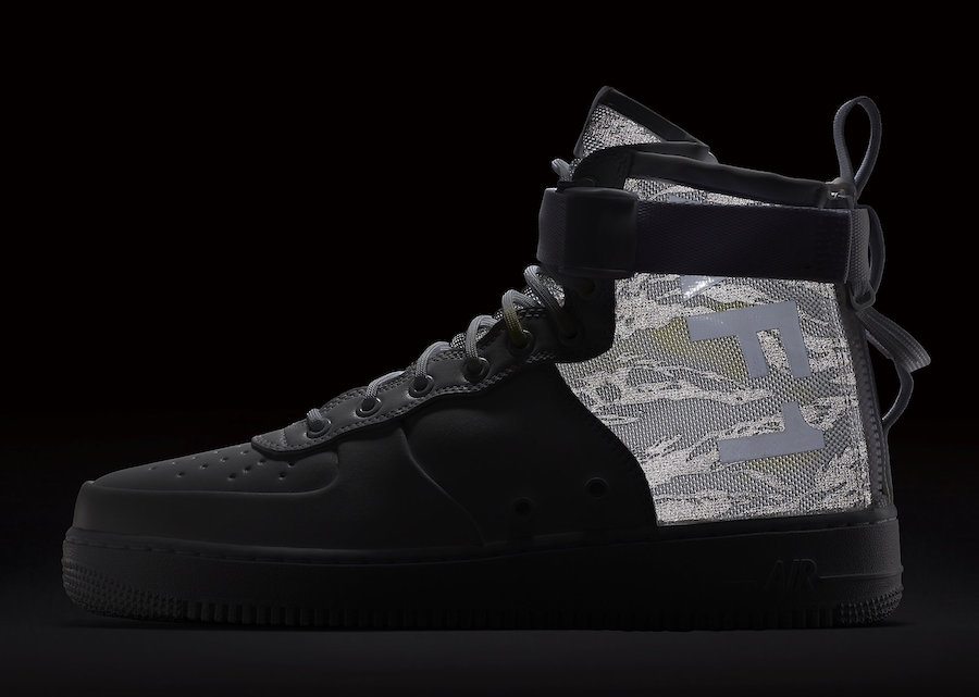 1 Special Field Air Force Camo Mid Winter Nike XOPkuZiT