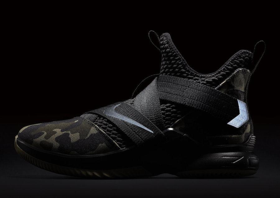 online retailer ed591 e5008 Nike Lebron Soldier 12 Sfg Camo