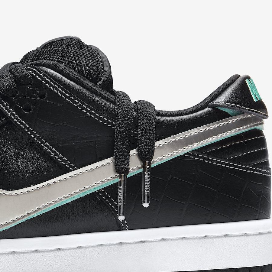 73cf31b861 BUY Diamond Supply Co. X Nike SB Dunk Low Black   Kixify Marketplace