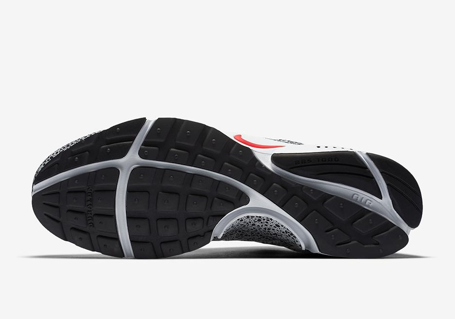 renomowana strona najnowszy szybka dostawa Nike Air Presto Safari White University Red