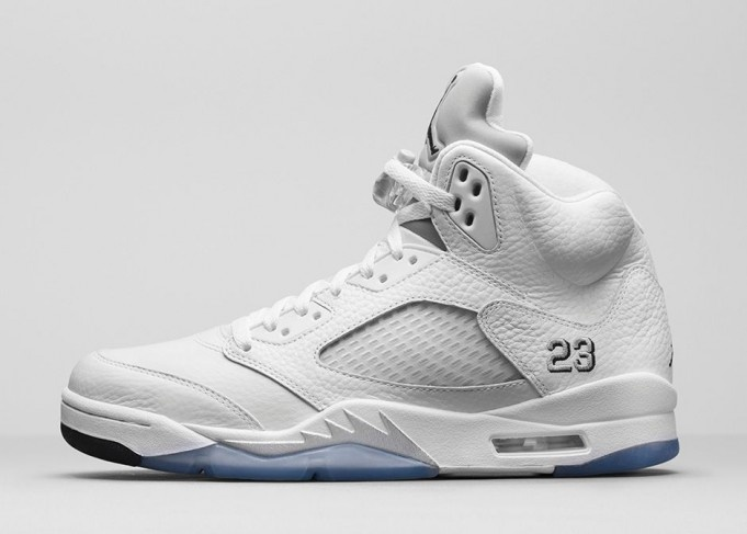 0dd73c569ee6a0 BUY Air Jordan 5 - Metallic Silver