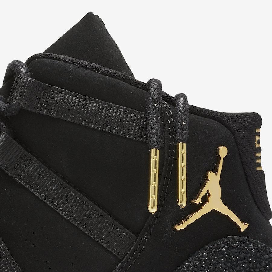 the latest e2e20 69650 Air Jordan 11 Gs Prm Heiress Black Stingray