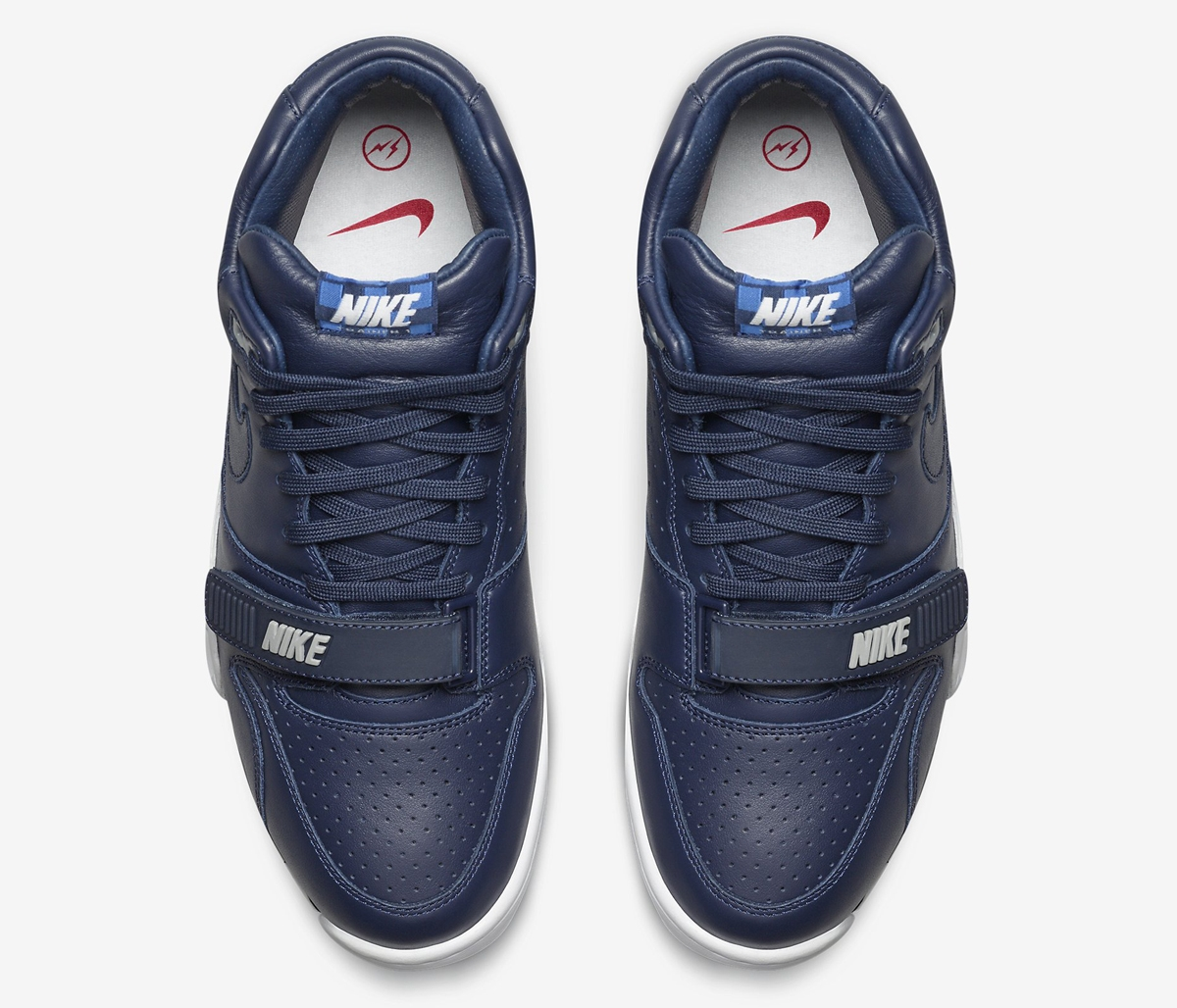 official photos c81a8 ba6f7 fragment design x Nike Air Trainer 1 Mid - US Open Blue